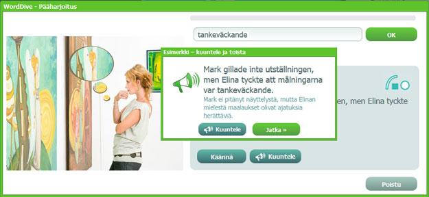 Näin harjoittelet ruotsia WordDivella