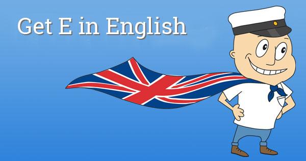 Get E in English