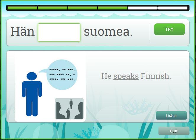 finnish verb conjugation