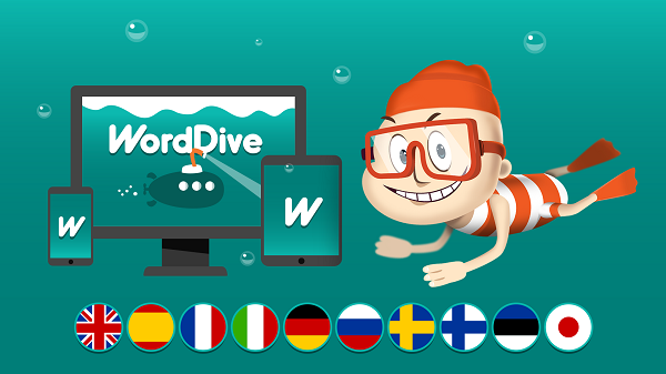 WordDive crowdfunding