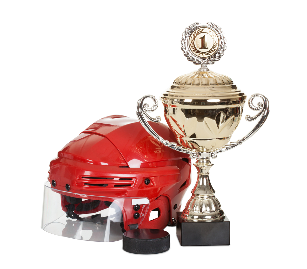 Ice hockey trophy